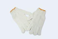 Γάντια βαμβακιού Στοκ εικόνες με δικαίωμα ελεύθερης χρήσης