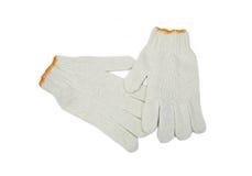 Γάντια βαμβακιού Στοκ φωτογραφία με δικαίωμα ελεύθερης χρήσης