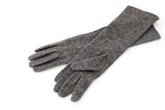 Γάντια γυναικών Στοκ εικόνες με δικαίωμα ελεύθερης χρήσης