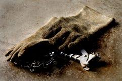 Γάντια εργασίας Στοκ Εικόνες