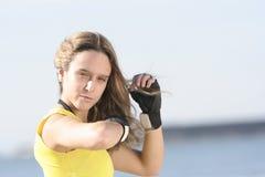 γάντια κοριτσιών Στοκ Εικόνες