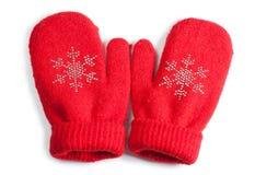 γάντια μωρών Στοκ Εικόνες