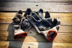 γάντια παλαιά Στοκ φωτογραφία με δικαίωμα ελεύθερης χρήσης