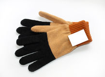 γάντια πλεκτά Στοκ φωτογραφίες με δικαίωμα ελεύθερης χρήσης