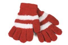 γάντια πλεκτά Στοκ Φωτογραφίες