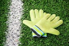 Γάντια τερματοφυλακάων Στοκ Εικόνα