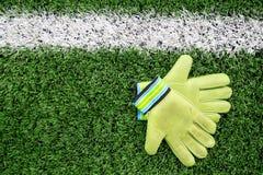 Γάντια τερματοφυλακάων Στοκ εικόνα με δικαίωμα ελεύθερης χρήσης