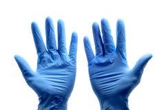 γάντια χειρουργικά Στοκ Εικόνες