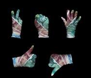 Γάντια χρημάτων της Νορβηγίας Στοκ φωτογραφία με δικαίωμα ελεύθερης χρήσης