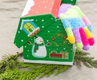 Γάντια Χριστουγέννων Στοκ φωτογραφίες με δικαίωμα ελεύθερης χρήσης