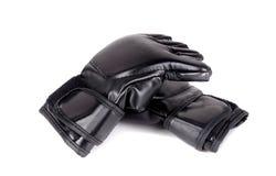 Γάντια MMA που απομονώνονται Στοκ Εικόνες