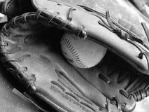 γάντι μπέιζ-μπώλ Στοκ εικόνα με δικαίωμα ελεύθερης χρήσης