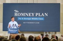 Γάντι πυγμαχίας Romney Στοκ εικόνες με δικαίωμα ελεύθερης χρήσης