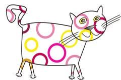 γάτα αστεία Στοκ Φωτογραφία
