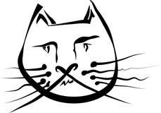 γάτα αστεία διανυσματική απεικόνιση