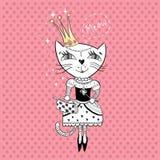 γάτα βασιλική Στοκ φωτογραφία με δικαίωμα ελεύθερης χρήσης