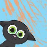 γάτα κινούμενων σχεδίων Απεικόνιση αποθεμάτων