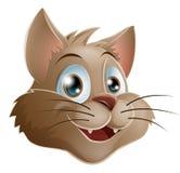 γάτα κινούμενων σχεδίων Στοκ φωτογραφία με δικαίωμα ελεύθερης χρήσης