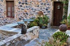 Γάτα οδών Monemvasia στοκ εικόνες με δικαίωμα ελεύθερης χρήσης