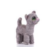 Γάτα - παιχνίδια παιδιών Στοκ εικόνα με δικαίωμα ελεύθερης χρήσης