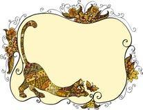 γάτα πεταλούδων Στοκ Εικόνα