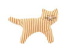 γάτα πλεκτή Στοκ Εικόνα