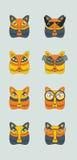 Γάτα ρυγχών με τα γυαλιά Στοκ εικόνα με δικαίωμα ελεύθερης χρήσης
