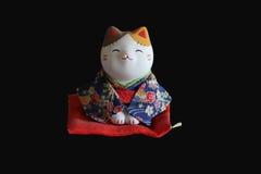 Γάτα Σαμουράι Στοκ Εικόνα