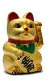 γάτα τυχερή Στοκ Εικόνα