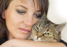 γάτα 4 που αγαπιέται Στοκ εικόνα με δικαίωμα ελεύθερης χρήσης