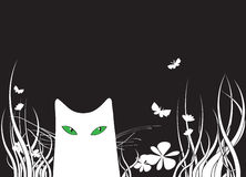γάτα ελεύθερη απεικόνιση δικαιώματος