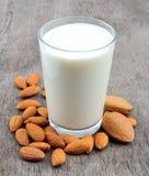 Γάλα αμυγδάλων Στοκ φωτογραφία με δικαίωμα ελεύθερης χρήσης