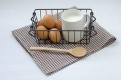 γάλα αυγών Στοκ εικόνα με δικαίωμα ελεύθερης χρήσης