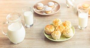 γάλα μπισκότων Στοκ φωτογραφία με δικαίωμα ελεύθερης χρήσης