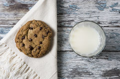 γάλα μπισκότων Στοκ φωτογραφίες με δικαίωμα ελεύθερης χρήσης