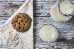 γάλα μπισκότων Στοκ εικόνα με δικαίωμα ελεύθερης χρήσης