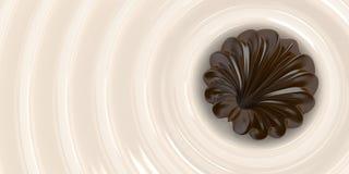 Γάλα σοκολάτας 3 Στοκ εικόνες με δικαίωμα ελεύθερης χρήσης