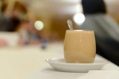 γάλα φλυτζανιών καφέ Στοκ Εικόνα