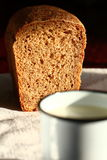 γάλα ψωμιού Στοκ εικόνα με δικαίωμα ελεύθερης χρήσης