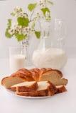 γάλα ψωμιού Στοκ Φωτογραφία