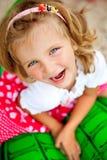 γέλιο κοριτσιών Στοκ Φωτογραφίες