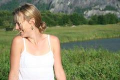 γέλιο κοριτσιών Στοκ εικόνες με δικαίωμα ελεύθερης χρήσης