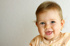 γέλιο μωρών στοκ φωτογραφία με δικαίωμα ελεύθερης χρήσης