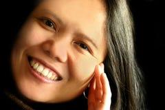 γέλιο ομορφιάς Στοκ εικόνα με δικαίωμα ελεύθερης χρήσης