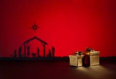 Γέννηση Ιησούς Στοκ φωτογραφίες με δικαίωμα ελεύθερης χρήσης