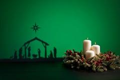 Γέννηση Ιησούς Στοκ Εικόνες
