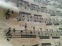 Γέννηση της μουσικής Στοκ Εικόνες