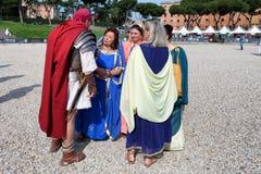 Γέννηση του φεστιβάλ 2015 της Ρώμης Στοκ εικόνες με δικαίωμα ελεύθερης χρήσης