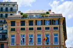 Γένοβα, Ιταλία στοκ εικόνα με δικαίωμα ελεύθερης χρήσης