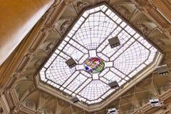 Γένοβα Κτήριο χρηματιστηρίου Φεγγίτης στοκ φωτογραφία με δικαίωμα ελεύθερης χρήσης